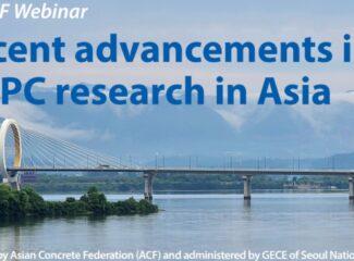 """VIBM: Thông báo đăng ký tham dự Hội thảo trực tuyến """"Những tiến bộ gần đây trong nghiên cứu về bê tông chất lượng siêu cao – UHPC ở Châu Á"""""""
